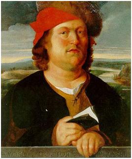 Най-известният портрет на Парацелз